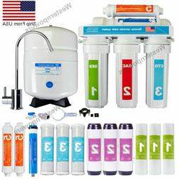 5 Stage Reverse Osmosis System Drinking Water Filtration Sys