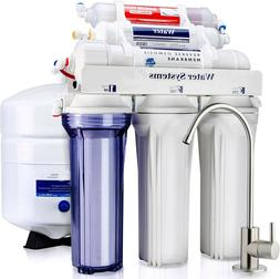 5 Stage 50 GPD Water Filter System Reverse Osmosis Filtratio