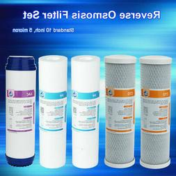 5pack under sink water filter replacement cto