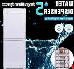 NEW 5Stage_Filter Self Cleaning Bottleless Water Hot&Cold Wa