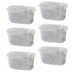 6 Replacement Charcoal Water Filters for Cuisinart Coffee Ma