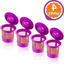 GoodCups 6 Reusable Refillable K Cups Coffee Filters Accesso