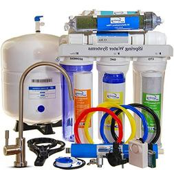 iSpring 75GPD 7-Stage Reverse Osmosis De-ionization Water Fi