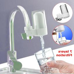 7-Stage Tap Faucet Water Filter System Kitchen Home Mount Fi