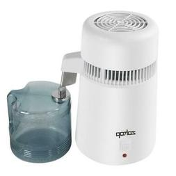 750W 4L Pure Water Distiller All Stainless Steel Interior Di