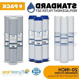 9 Pack Reverse Osmosis Light Commercial Replacement Filter 2