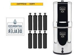 Crown Berkey Water System with 2 Berkey Black Filters