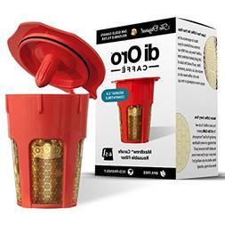 DI ORO - MaxBrew 24K Gold Reusable K-Carafe Filter for Keuri