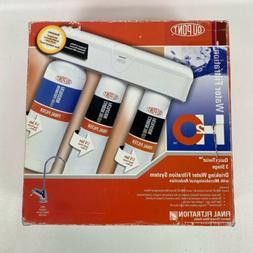 DuPont WFQT390005 QuickTwist 3-Stage Drinking Water Filtrati