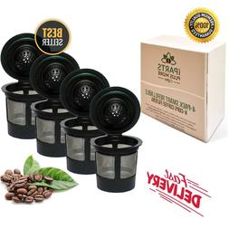Reusable K Cups For Keurig 2.0 & 1.0 Brewers Universal Fit F