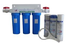 Reverse Osmosis Revolution Whole House 3-Stage Water Filtrat