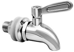 More Durable Beverage Dispenser Replacement Spigot,Stainles