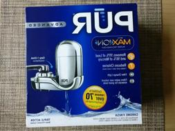 Pur Advanced Faucet Water Filter Chrome FM-3700B Small Kitch