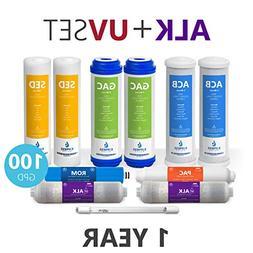 Express Water – 1 Year Alkaline Ultraviolet Reverse Osmosi