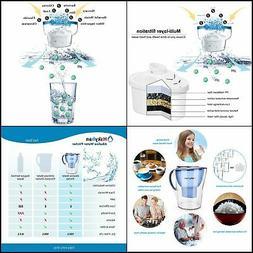 Alkaline Water Filter Pitcher 3.5 Liters Improve PH 2 Filter