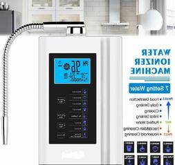 Alkaline Water Purifier Ionizer LCD Touch Alkaline Acid PH3.