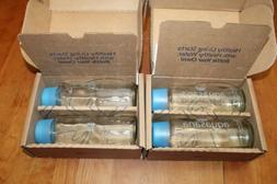 Aquasana AQ-GB 18 oz 500 ml Lead-Free Glass Water Bottles 4P