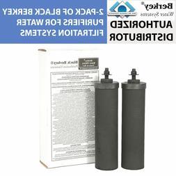 Berkey BB9 Replacement Black Purifier Elements for Berkey Wa