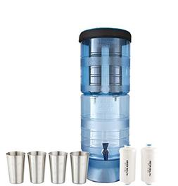 Bundle Includes: Berkey Light Water Filter System w/2 Black