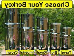Berkey Water Filter System - Big Crown Royal Imperial Light