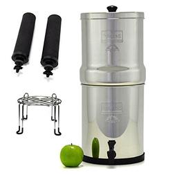 Big Berkey Stainless Steel Water Filtration System with 2 Bl