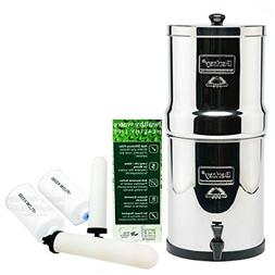 Big Water Filter System With 2 9 Ceramic Filters & 2 PF-4 Fl