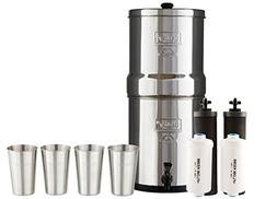 Boroux Bundle Includes: Big Berkey Water Filter System w/ 2