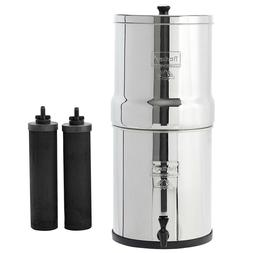 Big Berkey Water System With Black Filters and/or Fluoride F