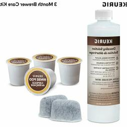 Keurig Brewer Care Kit with Descaling Solution 2-pack Water