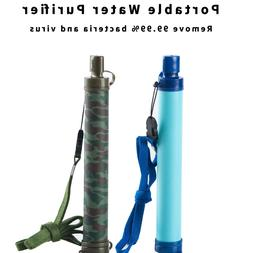 Camping Hiking Emergency Life Survival Portable Purifier Wat