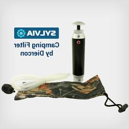 Camping Travel Pocket Water Filter Microfilter Purifier Syst