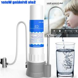 Counter Single 4 Stage Drinking Water Filter - Carbon Filter