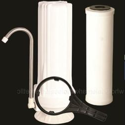 Counter top Ceramic Water Filter Home Purifier with Cartridg