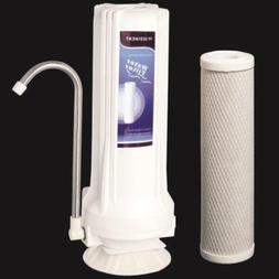 Countertop Water Filter Home Purifier with Carbon Cartridge