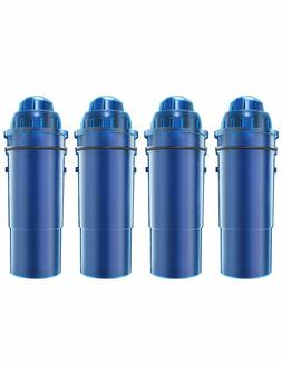 4 pack water pitcher filter compatible pur