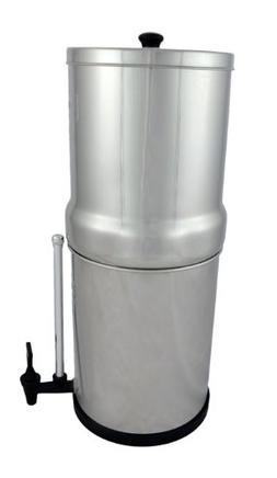 Crown Berkey Water Filter- 2 Black Berkey Filters and Water