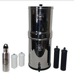 crown water filter stainless steel