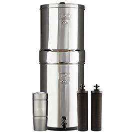 Bundle Includes: Crown Berkey Water Filter System with 2 Bla