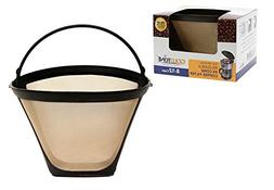 New Cuisinart Filter Permanent Gold Tone Coffee Maker Basket