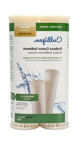 Pentek S1 Comaptible Standard 10 x 2.5 Inch Pleated Sediment Water Filter 12 Pac