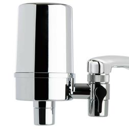 iSpring DF2-CHR Faucet Mount Water Filter 500 Gallon Filter