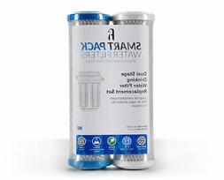Dual Stage Drinking Water Replacement Filter Set, Universal