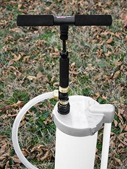 EarthStraw 6 Inch Well Cap with Pump Gripper