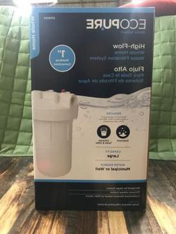 EcoPure EPWO4 Universal Large Capacity Whole House Water Fil
