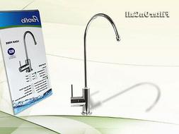 Euro-style RO Faucet Chrome Plated Lead Free NSF Certified
