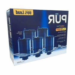PUR Faucet Mount Replacement Filter 5pk Filtration System Fi