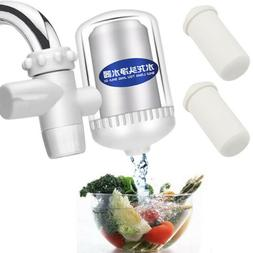 Faucet Tap Water Purifier Filter Clean With Ceramic Cartridg