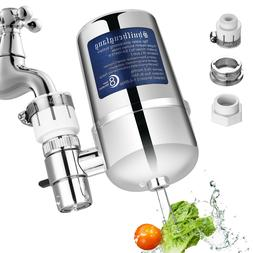 Faucet Water Filter Purification Kitchen Sink Bathroom Mount