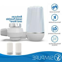 Faucet Water Filter Tap Water Filter, Removes Lead, Flouride