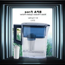 Filter Pitcher Water Drinking Jug 1 Free Filter Quality GUAR